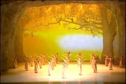Autumn scene from The Four Seasons by the Shanghai Dance Academy