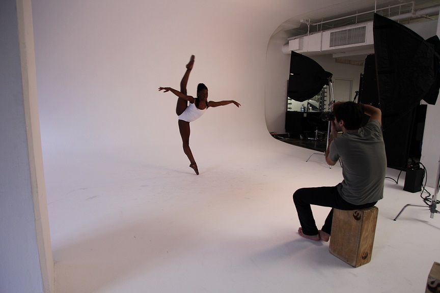 First Position – Michaela DePrince photo shoot