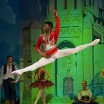 Brooklyn Mack from The Washington Ballet danced as Basilio in SA Mzansi Ballet's Don Quixote