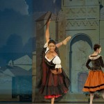 Claudia Monja performing as Mercedes in SAMB's production of Don Quixote..