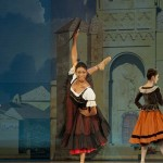 Claudia Monja performing as Mercedes in SAMB's production of Don Quixote.