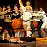 Basilio (Aaron Smyth) fakes his death while Gamache (danced by Keke Chele) tries his best to confirm it