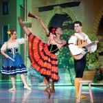 Guest performers, Michaela DePrince and Aaron Smyth dance as the two young lovers, Kitri and Basilio.