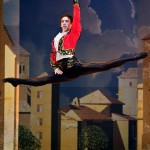 Ramiro Samon performs an effortless grand jete.