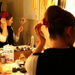A sneak peek into Sanmarie Kreuzhuber's dressing room.