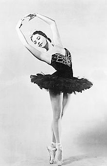 Alicia Alonso in 1955.