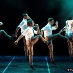 The men of Bovim Ballet in 'GI Blues'.