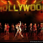 Henk Opperman (Elvis) leads the cast of Bovim Ballet in the Movie Medley.