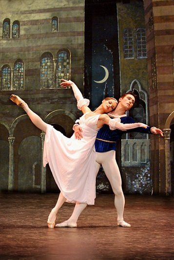 Anna Ivanova and Alexander Alikin perform Romeo and Juliet with Stars of the Ballet Moscow.