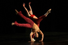 "Grant van Ster's ""Paradigm Shift"" rehearsal at the Baxter Dance Festival"
