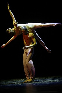 Grant van Ster and Louisa Ann Talbot at the Baxter Dance Festival.