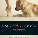 Dancers sharing the love for dogs at Cape Town concert