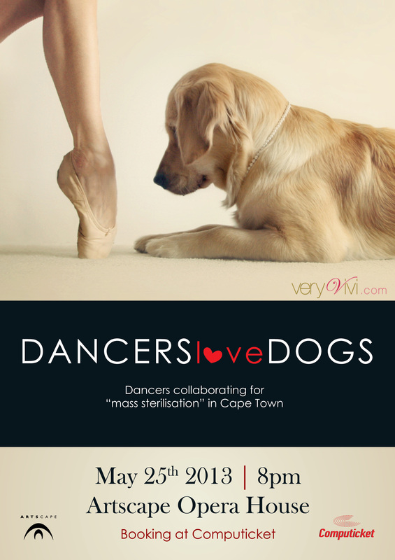 Dancers Love Dogs concert at Artscape Theatre on 25 May 2013.