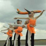 Photos from the Jet Duet – A Ballet with a Boeing