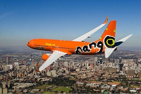 Mango airline Boeing