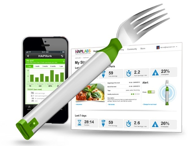 The HAPIfork smart utensil