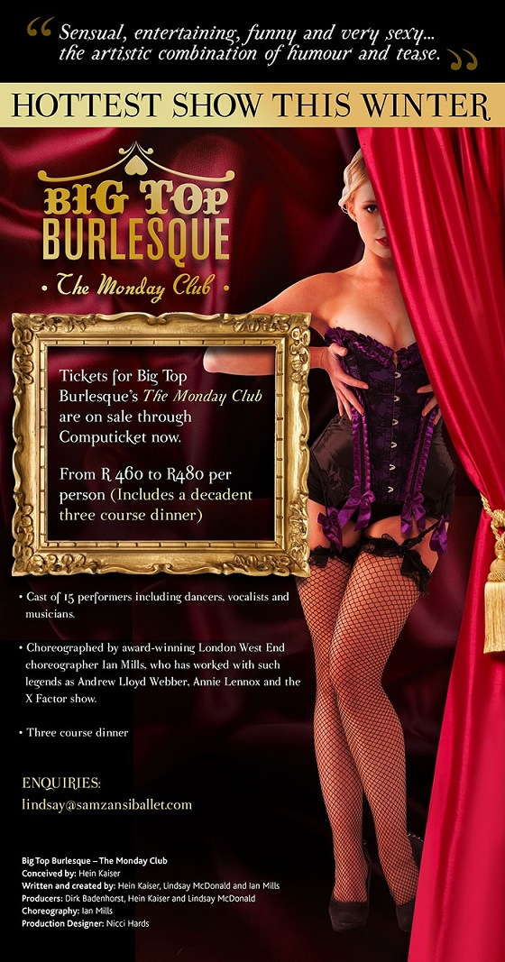 Big Top Burlesque - The Monday Club