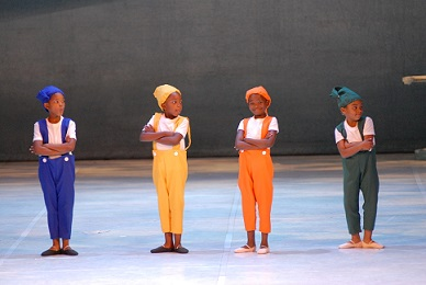 Young children from Joburg are given opportunities to perform as part of SAMB's outreach programmes.