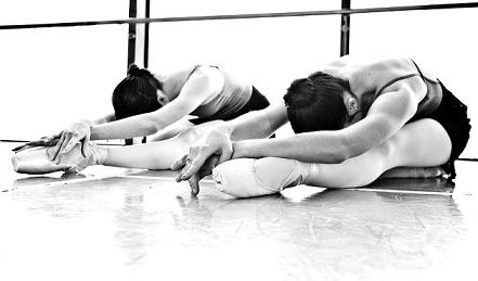 Ballerina stretch class