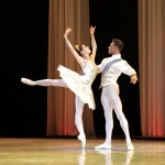 Burnise Silvius and Jonathan Rodrigues perform the Cinderella pas de deux.