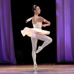 Tamako Miyazaki from Columbia Classical Ballet was simply sparkling in Diana and Actaeon.