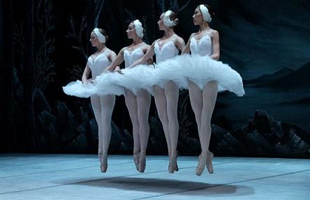 SPBT's Swan Lake: Four little swans