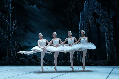 SPBT's Swan Lake: Four little swans