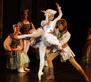 See Puss in Boots, the big bad Wolf and other fairy tale characters in Cape Town City Ballet's The Sleeping Beauty.