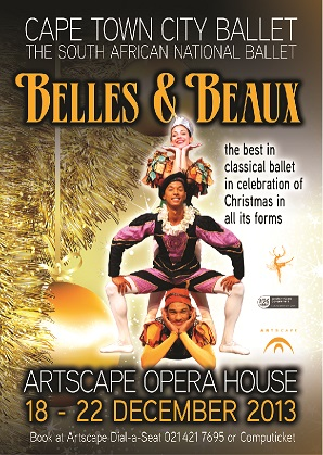 Belles & Beaux poster by Cape Town City Ballet