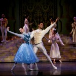 Burnise Silvius and Jonathan Rodrigues in Joburg Ballet's Cinderella 2013.