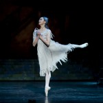 Known as the 'lament variation', Cinderella mourns for the memory of her mother as she dances with her mother's pearls. Performed here by South Korean Jin Ho Won.
