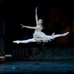 Cinderella (Jin Ho Won) leaps and twirls through a tricky but beautifully touching variation.
