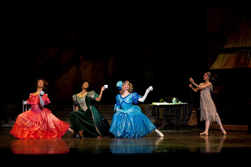 Cinderella's icy stepmother and nasty (but very funny) stepsisters.