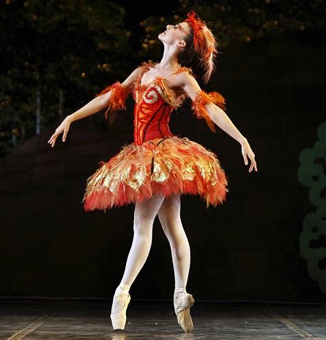 Laura Bosenberg as The Firebird.