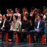 The panel of judges for the 4th South African International Ballet Competition were, seated from left, Dawn Weller, Ernst Meisner, Xin Lili, Julio Bocca, Oliver Matz and Melanie Person, along with the chair of the panel Hae Shik Kim (not shown).
