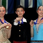Young Chinese ballet stars-in-the-making, from left: Yu Hang (14 years old), Xu Jing Kun (13) and Fu Yi Yang (13).