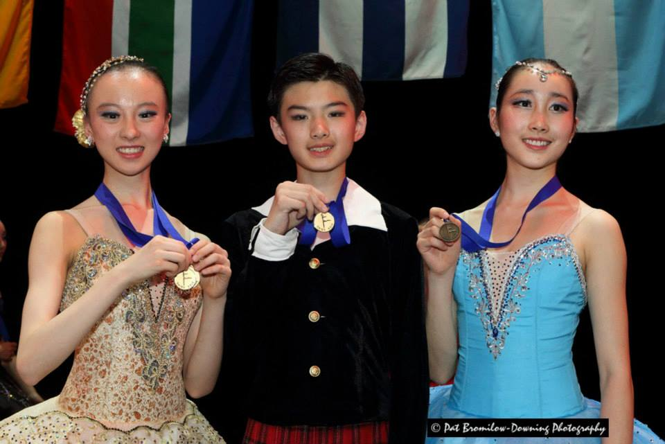SAIBC 2014  Awards – Young Chinese medallists