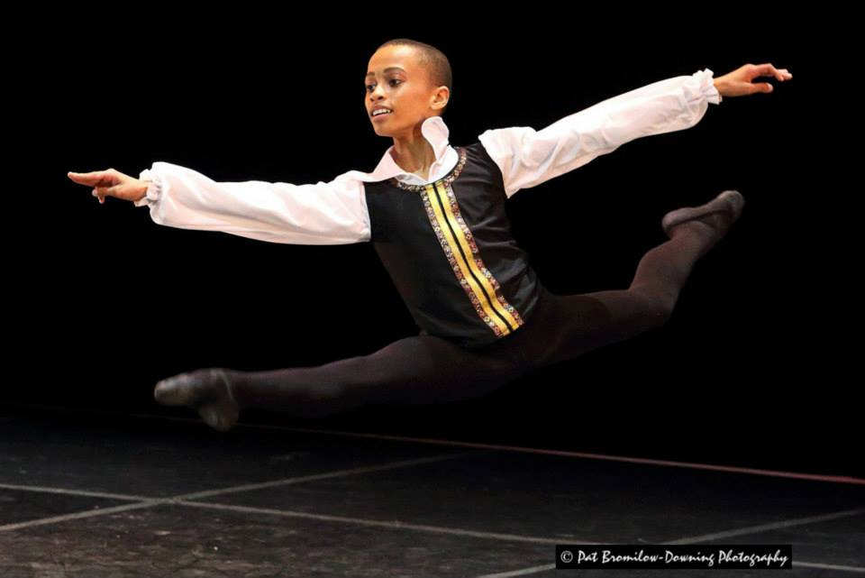 14 year old Leroy Mokgatle from Johannesburg wowed the audience with his performance of Don Quixote.