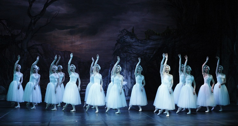 See pure white magic on stage with Cape Town City Ballet's Swan Lake in April 2014.