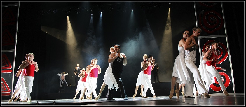 The Bovim Ballet cast in a scene from Queen's 'Under Pressure'.