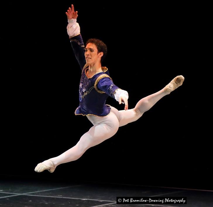Ramiro Samón in his gold medal winning variation from Satanella at the 2014 South African International Ballet Competition in Cape Town in February.