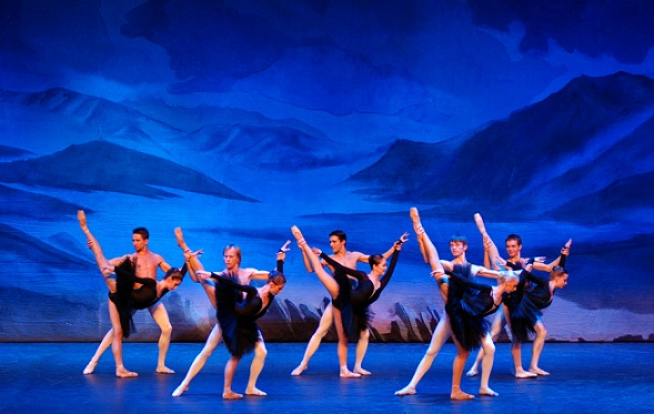 See a modern ballet piece choreographed by Anatoly Emelianov set to Maurice Ravel's well-known Bolero.