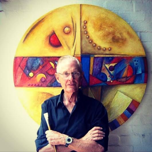 Ernst de Jong with his American Dream Wheel.