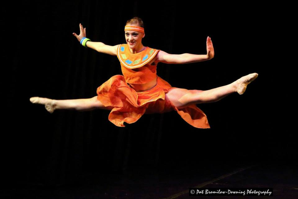 Tasha Ainsworth performs in Cape Junior Ballet's In the Spotlight. Photo by Pat Bromilow-Downing