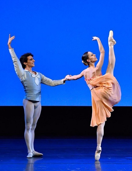 See Joaquin de Luz, principal at New York City Ballet, perform in Stars of American Ballet. Seen here dancing with fellow NYCB principal Ana Sophia Scheller.