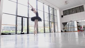 A scene from Lauge Sorensen's beautiful mini-documentary for Joburg Ballet.
