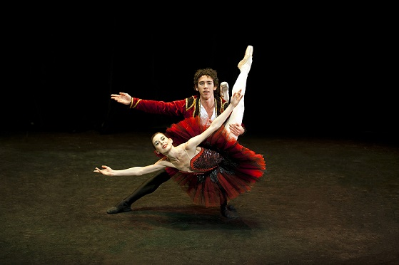 Joburg Ballet's prima ballerina Burnise Silvius will perform the pas de deux with Ramiro Samon from the dazzling Don Quixote.